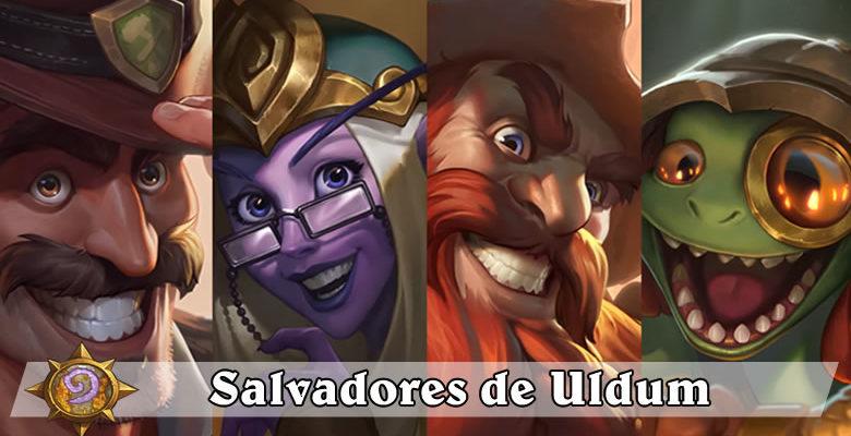 Salvadores de Uldum - Hearthstone